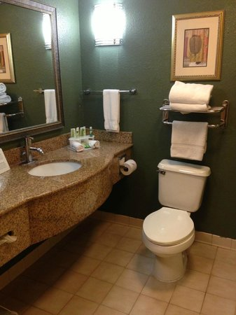 Days Inn & Suites South Boston: Bathroom was not bad except for some cleanliness issues