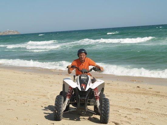 Old Port : Paseo en moto por las playas