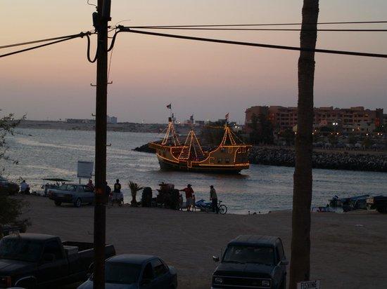 Old Port : Vista nocturna de la marina
