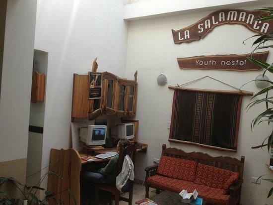 Hostal La Salamanca: Sala
