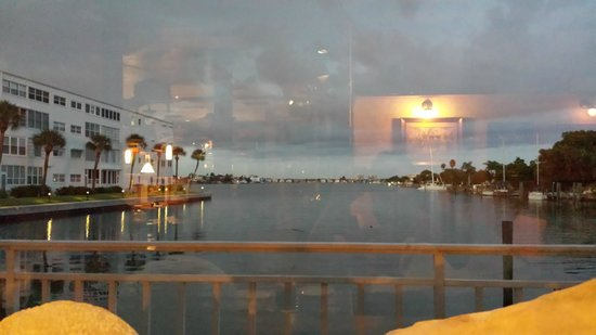 Silas Dent's Steakhouse: View from our Table