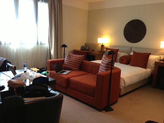 Milan Suite Hotel: Big rooms and a comfy bed
