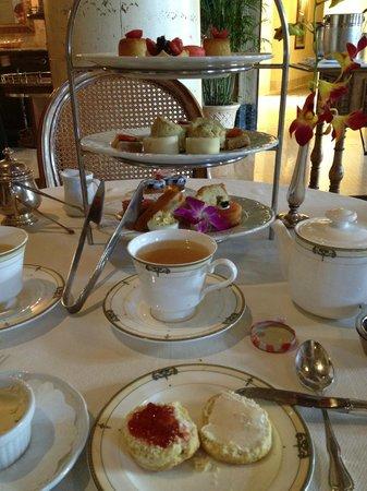Fontana : Tea Time at the Biltmore in Coral Gables, Florida