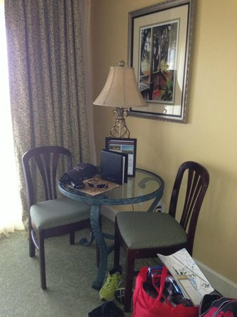 Omni Amelia Island Plantation Resort: Sitting area
