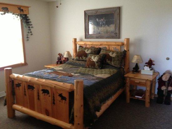 Second Wind Country Inn : Bedroom of loft apt.