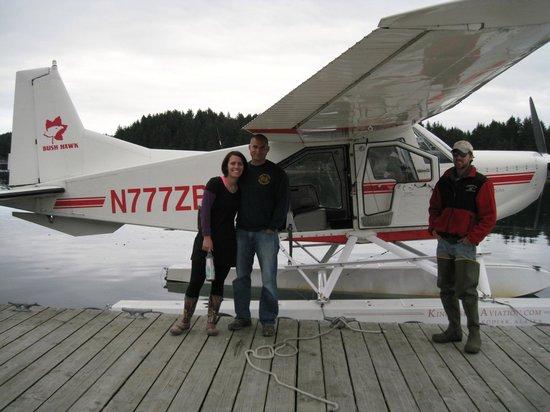 Zachar Bay Lodge : Float Plane