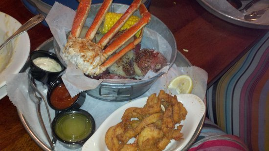 Folly Beach Crab Shack: seasoned to perfection