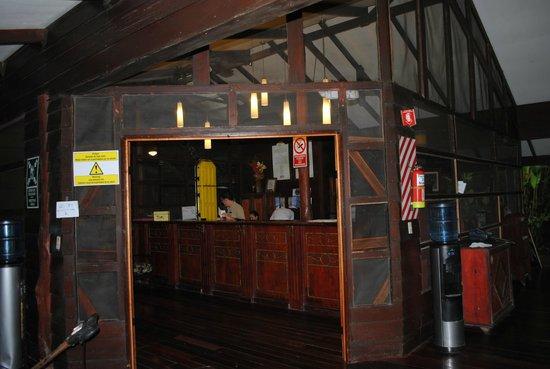 Pachira Lodge: Reception