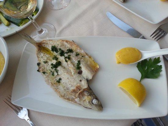 Trattoria Bell'Arrivo: Boneless Whitefish