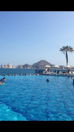 Hotel Riu Santa Fe: Pool view