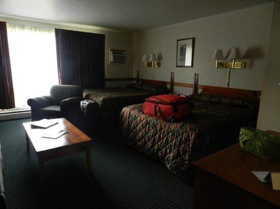 Stowe Motel & Snowdrift: Simple basic very clean room