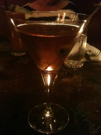 The Gilt Club: House infused Black Pepper, Onion Gin Martini