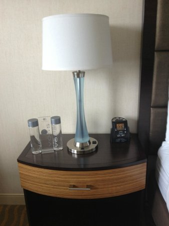 DoubleTree by Hilton Hotel San Diego - Mission Valley: Alarm Clock and Water for Purchase