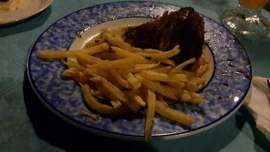 Petros Restaurant: lamb dish
