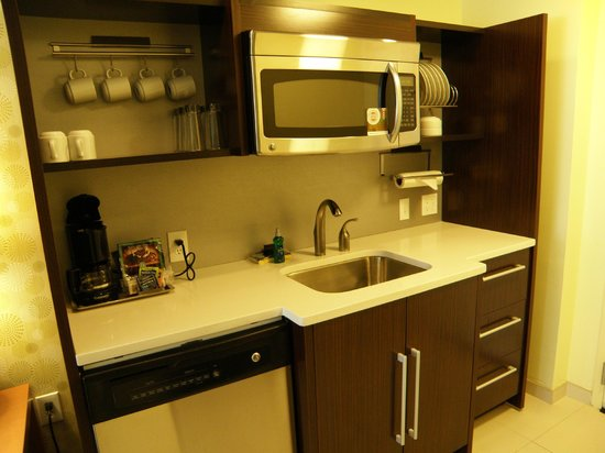 Home2 Suites by Hilton Baltimore Downtown : Well equipped