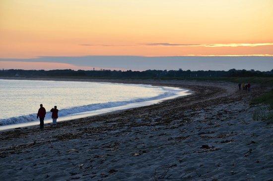 Le Logis de Mousterlin : The beach