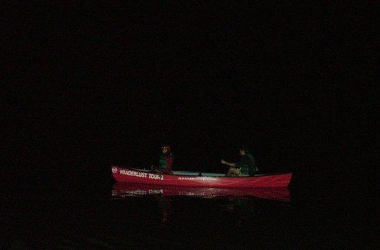 Wanderlust Tours: Pitch dark kayaking!