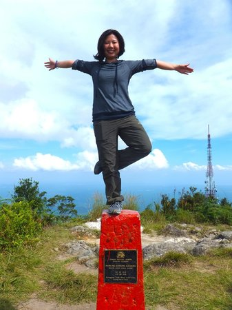 Gunung Ledang (Mount Ophir): I have left my foot print here, satisfaction