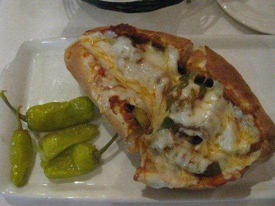 Nora's Cuisine: sausage and pepper sandwich