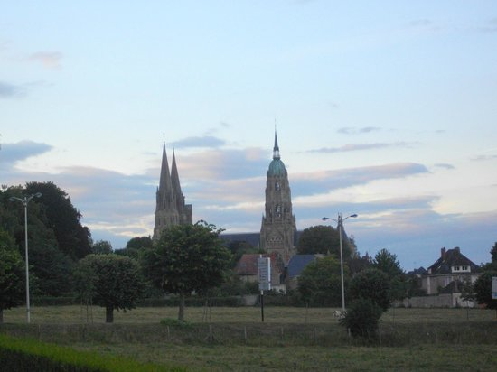 Campanile De Bayeux: View from room