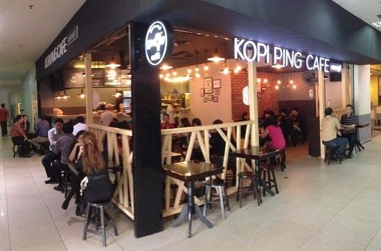 Kopi Ping Cafe: New Karamunsing Complex outlet opening
