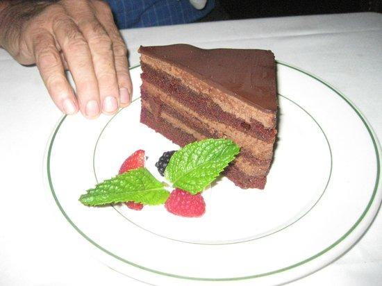 Smith & Wollensky - Las Vegas: chocolate cake