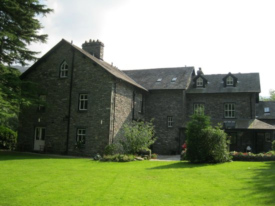 New Dungeon Ghyll Hotel: View from the garden