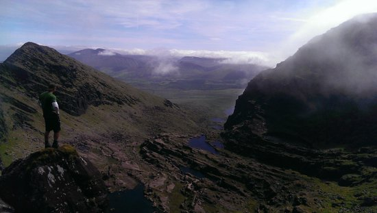 Mount Brandon: On the way down
