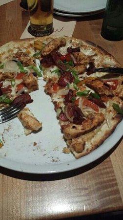 California Pizza Kitchen: SPICY JAMAIKA