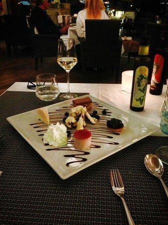 Seespitz: Mixed dessert
