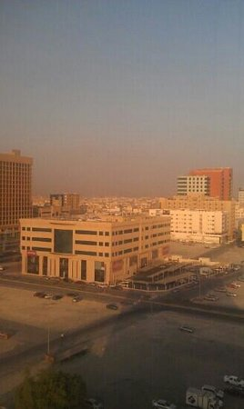Hawthorn Suites By Wyndham Al Khobar : view from 8th floor