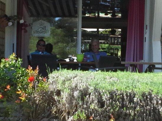 Best Western Golf Hotel : terrasse