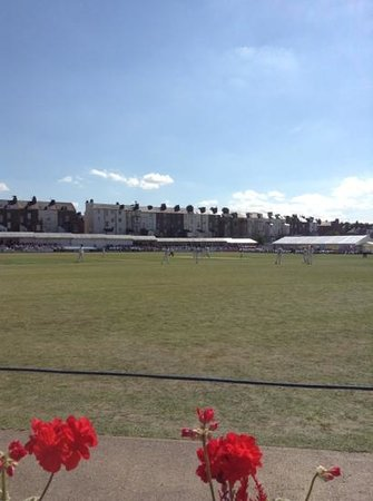 Scarborough Cricket Club from the pavilion