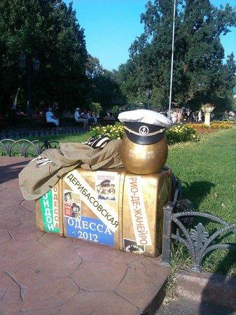 Lafa hostel: Парк напротив хостела