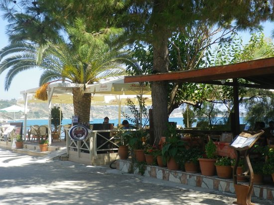 Katelios Studios: beach tavernas - only two of quite a few