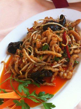 Sichuan: 鱼香肉丝