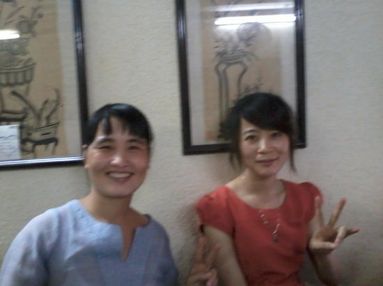 Hanoi City Hostel: Mom en Hien