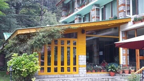 Johnson Lodge: cafe