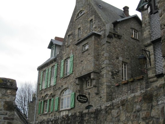 Les Terrasses Poulard: отель