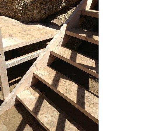 Mayor La Grotta Verde Grand Resort: poor engineering and dodgy steps