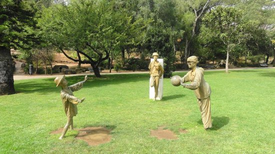Marechal Carmona Park: Bawiąca się rodzina