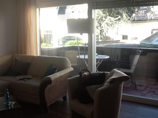 Hotel Neuhaus: vanuit onze suite