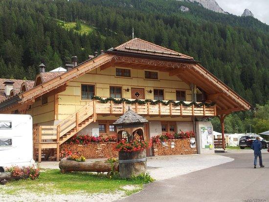 Camping Catinaccio Rosengarten: la casetta