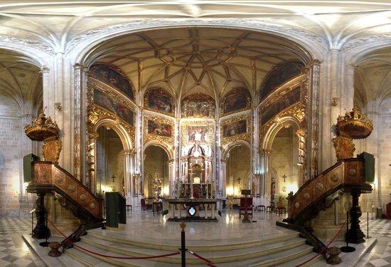 Cathedral of Almeria: interno panoramico