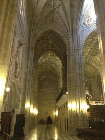 Cathedral of Almeria: interno