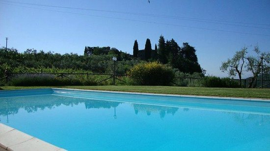 Fietri: Panorama da piscina
