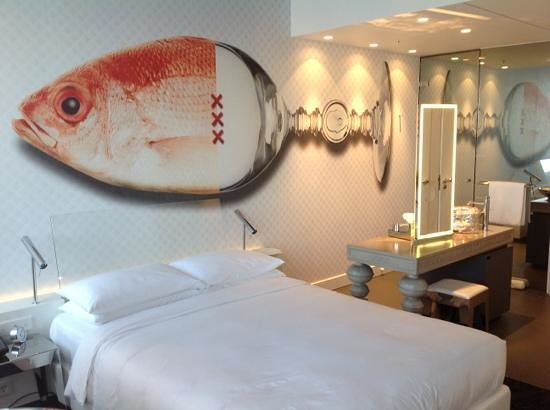 Andaz Amsterdam Prinsengracht: a room at the Andaz in Amsterdam