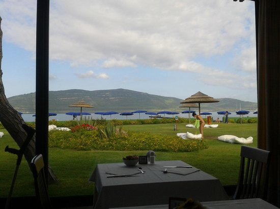 Corte Rosada Resort & SPA: vista ristorante