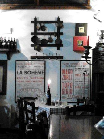 Ristorante Alloggio Ostello Amolara: Sala ristorante