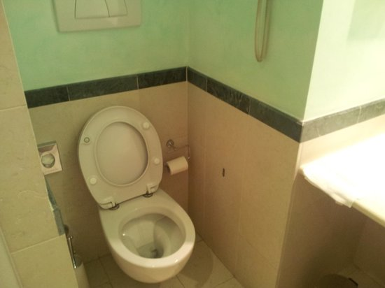 Hotel Colombia: Angolo wc